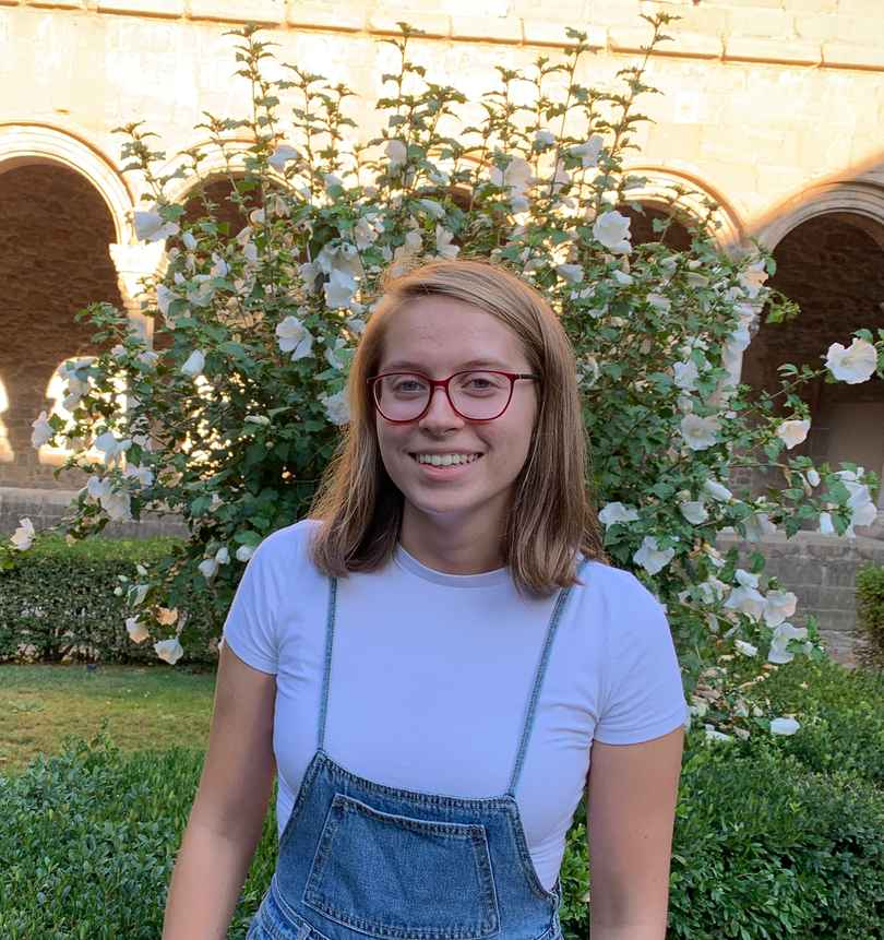 College Student, Carly Researched French Literature