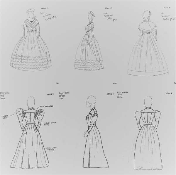 Exploring 19th Century Fashion Design